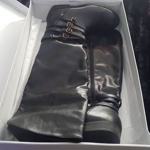 Just fab wide calf boots size 10